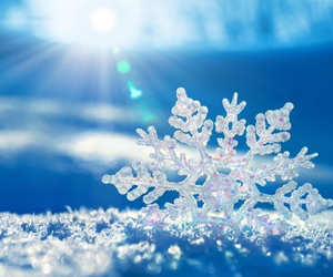 cristal, snow, and winter image