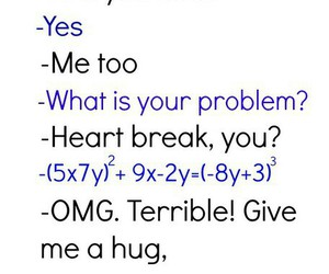 maths and love image
