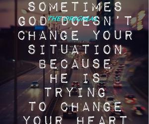 god, heart, and change image
