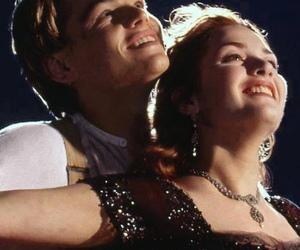 couple, kate winslet, and titanic image