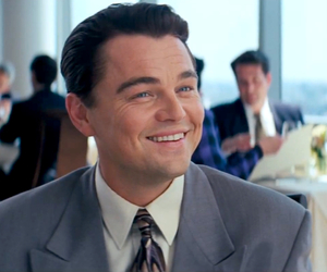 leonardo dicaprio, smile, and the wolf of wall street image