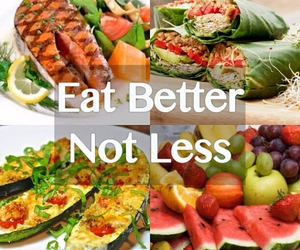 food, fitness, and healthy image