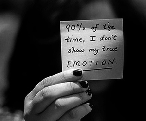 emotions, quote, and sad image
