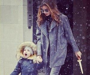 miranda kerr, snow, and model image