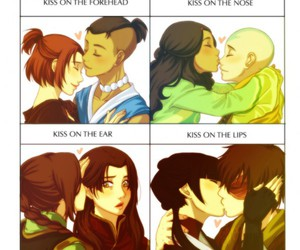 kiss and sokka image
