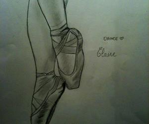 blackandwhite, dance, and draw image