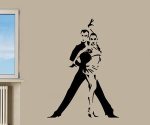 sport decals, love decals, and dance wall decal image