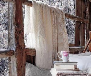vintage cozy home winter image
