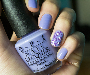 purple, tumblr, and nail art image