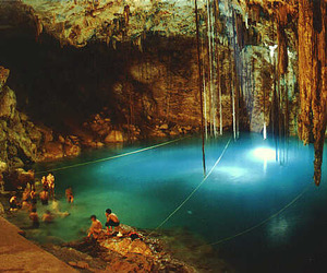 mexico, swimming, and travel image