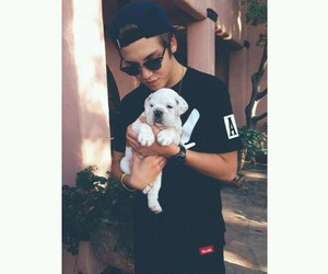 matthew espinosa, matt, and dog image
