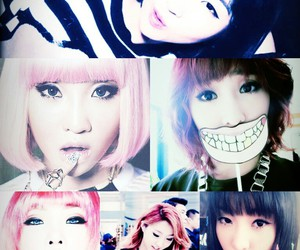 2ne1, Collage, and ♡ image
