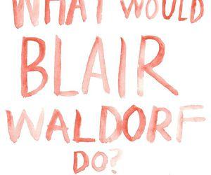 gossip girl, blair waldorf, and blair image