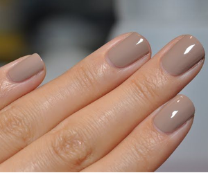nails, cute, and beige image