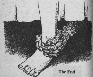 monster, the end, and end image