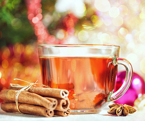 tea, Cinnamon, and christmas image