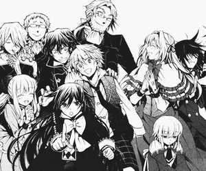 pandora hearts, anime, and echo image