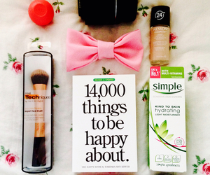 makeup, girly, and happy image