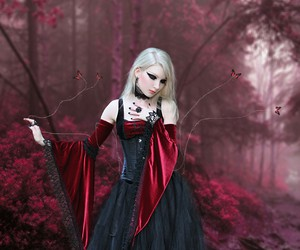fantasy and vampire image