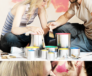 emma swan, captain swan, and ouat image