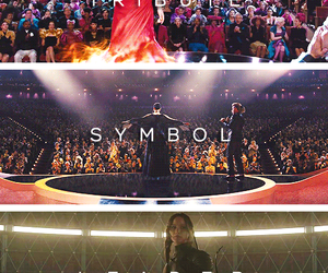 mockingjay, the hunger games, and tribute image