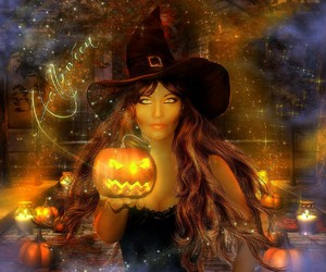 fantasy and witch image