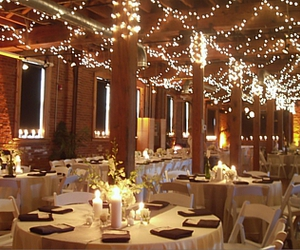 dinner, lights, and venue image