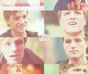 the hunger games, peeta mellark, and hunger games image