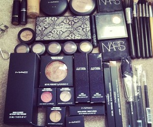 mac, nars, and makeup image
