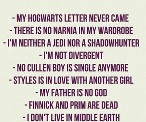 harry potter, life, and narnia image