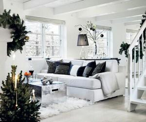 christmas, home, and room image
