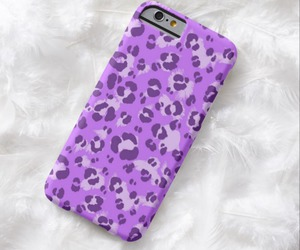 leopard, pattern, and purple image