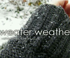 sweaters and weather image