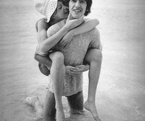 george harrison, love, and pattie boyd image