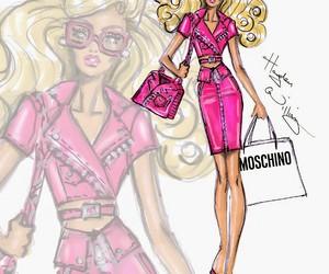 barbie, hayden williams, and Moschino image