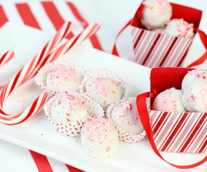 cake pops, candy, and candy cane image