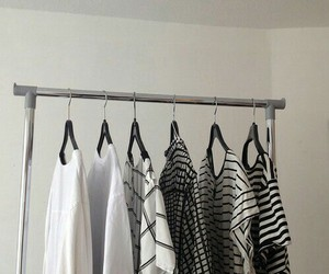 black&white and clothes image