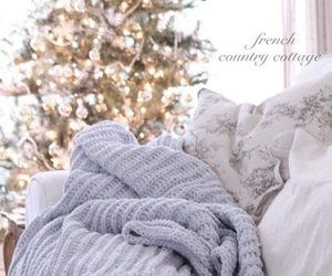 christmas, blanket, and cozy image