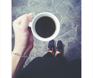 coffee, fitness, and nike image