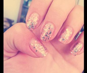 girly and nails image