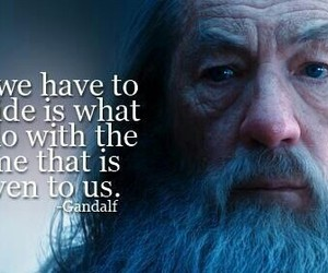 gandalf, quote, and the lord of the rings image