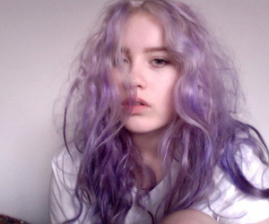 pale, grunge, and hair image