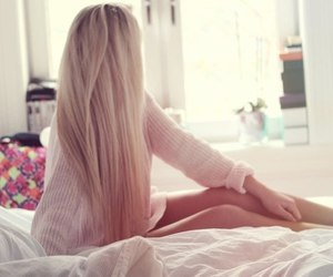 beauty, blonde, and hair image