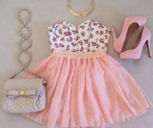 accesories, pink, and style image