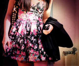 fashion, dress, and girl image