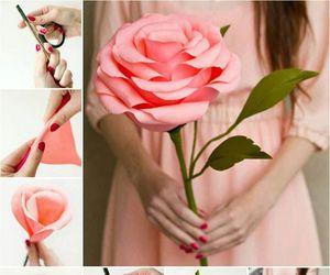 diy, rosa, and make image