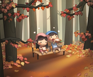 fall, together, and hj story image