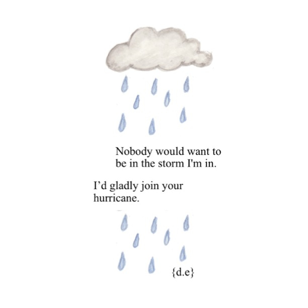 Rain Cloud☔ Shared By Dana On We Heart It Amazing Cloud Quotes