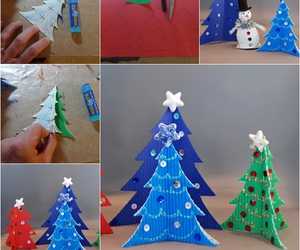 christmas tree, crafts, and diy image