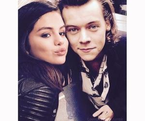 selena gomez, 1d, and Harry Styles image